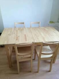 Ikea Norden table.