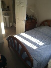 Double ensuite room in family home