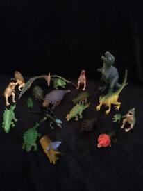 Various dinosaurs (20)