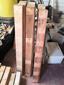 4 FOOT PINE BOARDS, 10CM WIDE, 20MM THICK