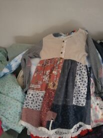 Large bag/ bundle of girls clothes ages 7/8, 9/10 and 11. Next, Joules, Animal, John Lewis etc