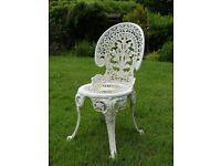 Ornate Garden Chair
