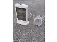 Halogen Heater Oscillating 3 Heat Settings & fan heater