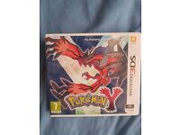 Nintendo 3DS pokemon Y game
