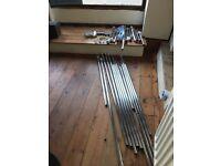 Shop Fitting rails & components