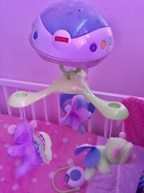 Fisher price butterfly dreams 3in1 projection mobile