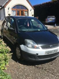 Black Ford Fiesta Zetec (Ideal First Car)
