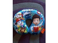New children's Paw Patrol travel pillow