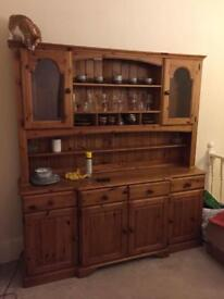 Large Welsh dresser Pine
