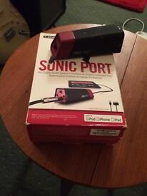 Sonic Port for ipad or iphone.