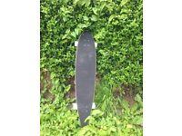 Two bare feet 114cm longboard, new