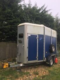 Ifor Williams 505 Trailer with front and rear ramp