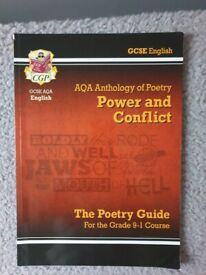 CGP AQA poetry Anthology - Power and Conflict Revision Guide