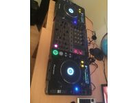 Pioneer CDJ 1000 MK3 pair and DJM 600 mixer set