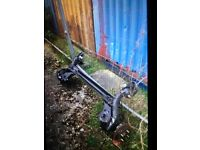 Ford Fiesta rear axle 2009 to 2017
