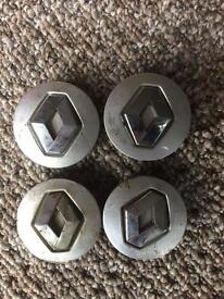 Renault alloy centre caps