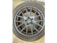 4 x Wolfrace 18inch Alloy wheels & tyres for VW Transporter T5 & T6
