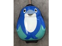 KIDS HARD SHELL DOLPHIN SUITCASE