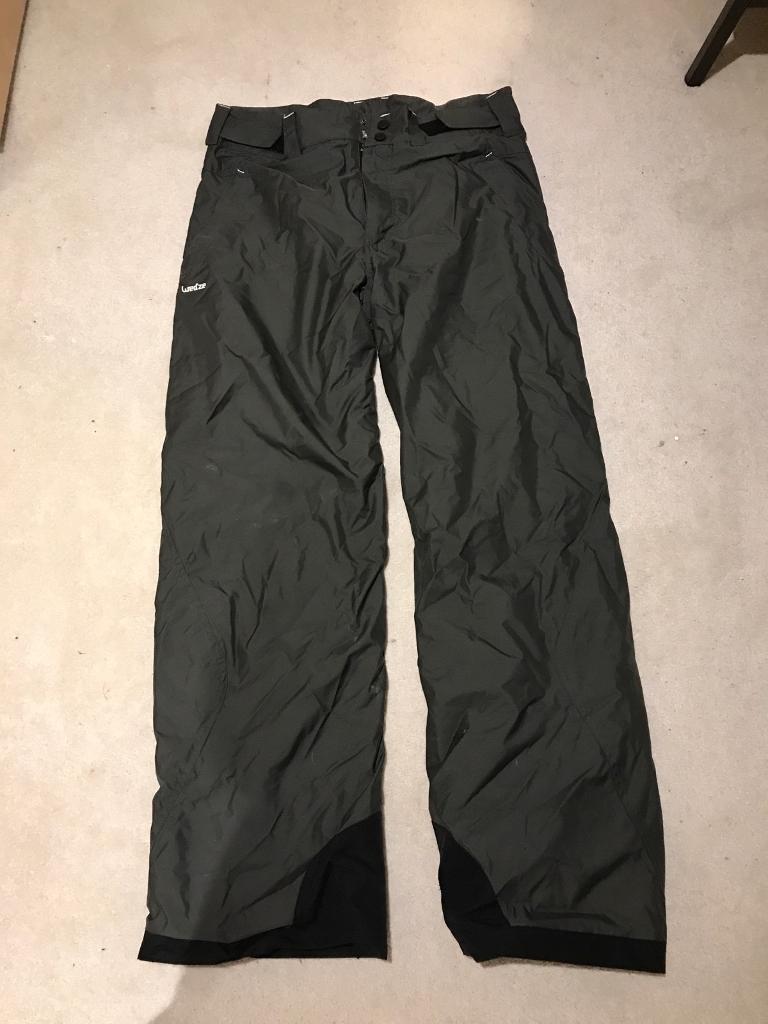 Men's ski/ snowboard pants decathlon size L