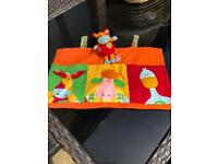 Cot Tidy with Matching Soft Toy