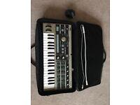 Korg microKORG keyboard and carry bag