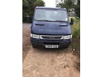 05 iveco twin wheel pick up
