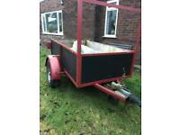 Builders trailer 1000kg capacity