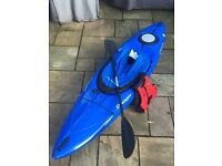 Dagger Approach Kayak 9 - Blue (paddle + spraydeck included)