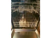 Disher washer and glass tablr