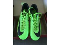 NIKE studded football boots size 9