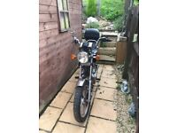 125 cruiser long mot