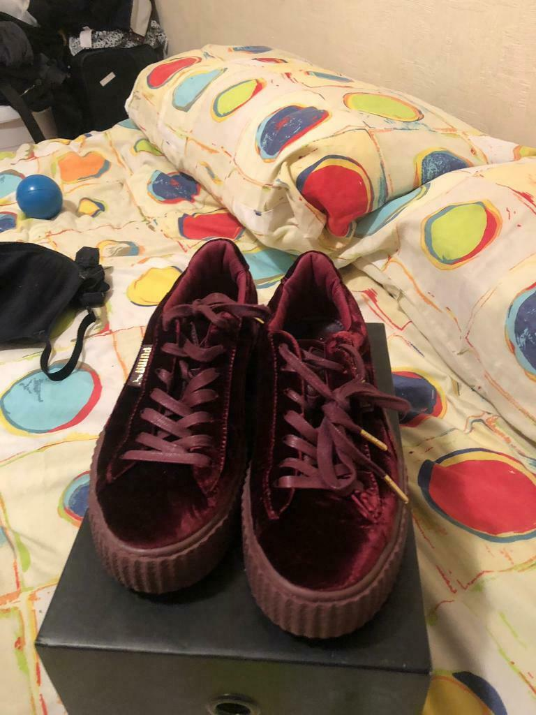size 40 a2e9e 33766 Rihanna FENTY puma Creepers | in Drylaw, Edinburgh | Gumtree