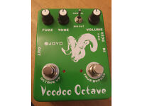 MODDED Ultimate Fuzz and Voodoo Octave Guitar Effect Hendrix Pedal MODDED