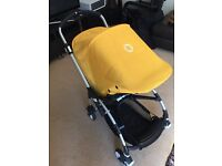 Excellent condition bugaboo bee with lots of accessories rrp. £1000