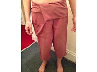 Thai fisherman trousers, 3/4 length
