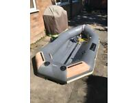 2.8m Long Inflatable Boat ready to go and enjoy the weather