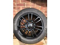 "Range Rover 19"" wheels newly refurbed with Michelin tyres all with 5mm of tread at least"