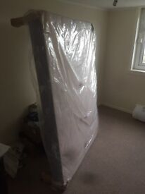 Brand new double bed base still in wrapping