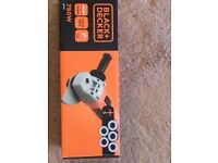 Black and decker angle grinder- brand new unopened