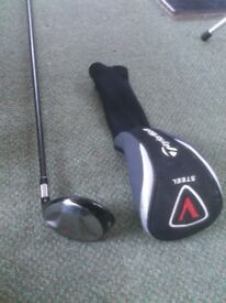 "TaylorMade 5 Wood and Calloway ""Big Bertha"" 3 Wood"