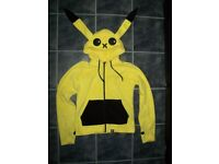 Cupcake Cult Pokemon Pikachu hoodie size L (14). Excellent condition, worn once.