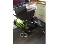 Phil and Teds double pushchair/pram/buggy