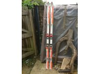Head and Rossignol skis