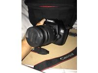 CANON 1300D USED ONCE & BRAND NEW 75-300mm LENS!