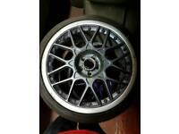 18inch audi tt bbs rs2 alloy wheels et33 8j mk3 golf audi a3 tyres