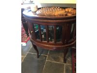 Drinks cabinet oval