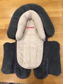 Newborn car seat insert