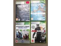 X box 360 games 2x16 and 2x15