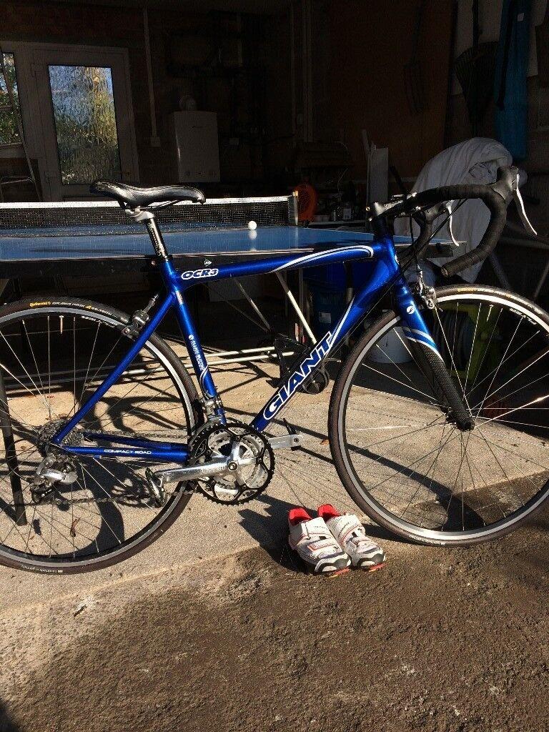 Road Bike Giant Ocr 3 6000 Series Aluxx Carbon Forks