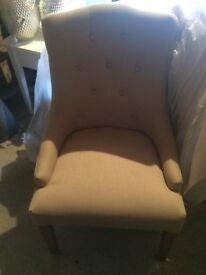 Cream chair
